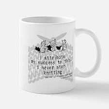 Never Stop Knitting Mug