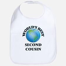 World's Best Second Cousin Bib