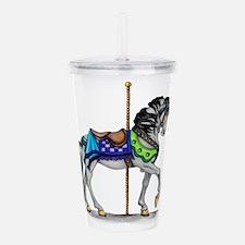 The Carousel Horse Acrylic Double-wall Tumbler