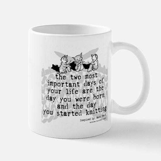 The Day You Started Knitting Mug