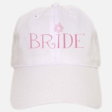 Retro Flower Bride Baseball Baseball Cap