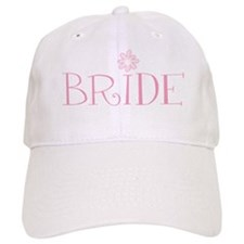 Retro Flower Bride Baseball Cap