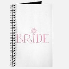 Retro Flower Bride Journal