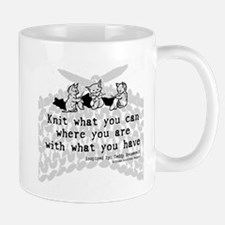 Knit with What you Have Mug
