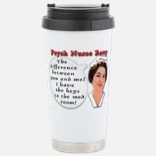 Cute Mental heatlh Travel Mug