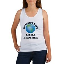 World's Best little Brother Tank Top