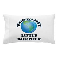 World's Best little Brother Pillow Case