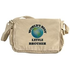 World's Best little Brother Messenger Bag