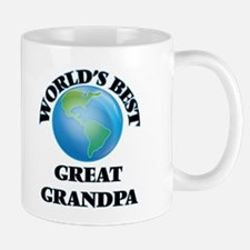 World's Best Great Grandpa Mugs