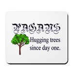 Pagan Tree Hugging Mousepad