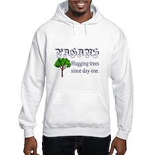 Pagan Tree Hugging Hoodie