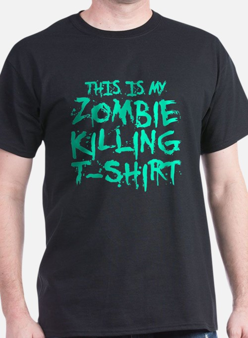 This Is My Zombie Killing T-Shirt T-Shirt