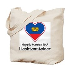 Happily Married Liechtenstein Tote Bag