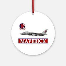 Top Gun Ornament (Round)