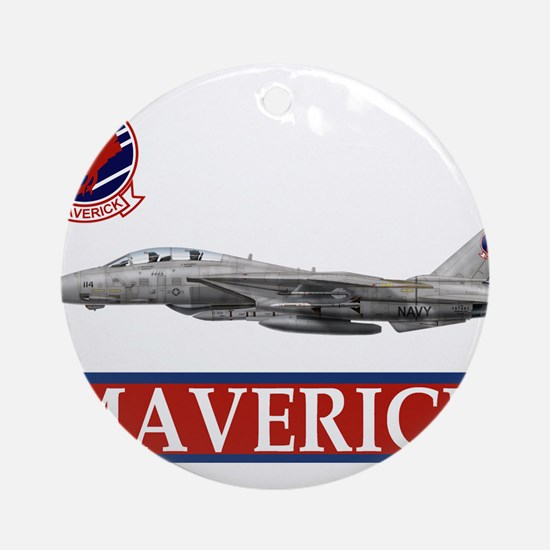 Top Gun Ornament (Round)