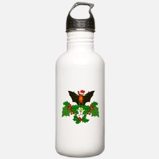 Christmas Holly With B Water Bottle