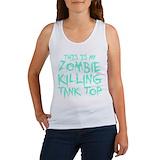 Zombie apocalypse tank top Women's Tank Tops