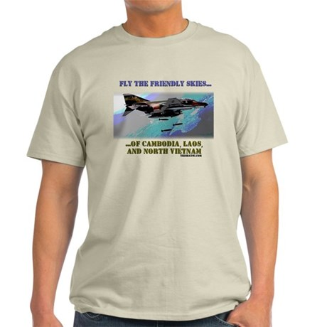Fly The Friendly Skies... Light T-Shirt