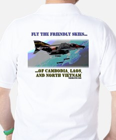 Fly The Friendly Skies... Golf Shirt
