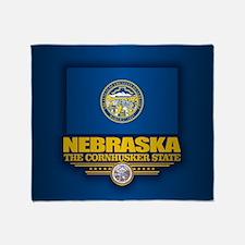 Nebraska (v15) Throw Blanket
