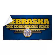 Nebraska (v15) Beach Towel