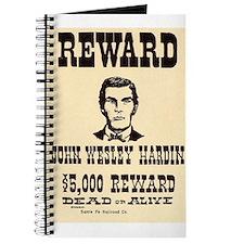 John Wesley Hardin Journal