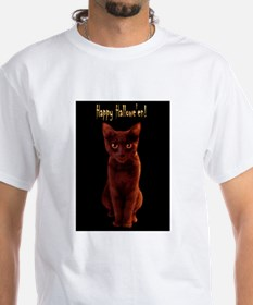 Happy Halloween Cat Shirt