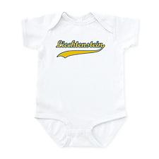 Retro Liechtenstein Infant Bodysuit