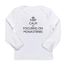 Keep Calm by focusing on Monas Long Sleeve T-Shirt