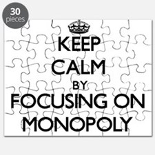 Keep Calm by focusing on Monopoly Puzzle