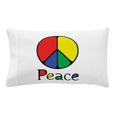 Emphatic Peace Colours Pillow Case
