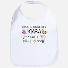 Kiara had a Farm Bib