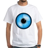 Eyeball Mens White T-shirts