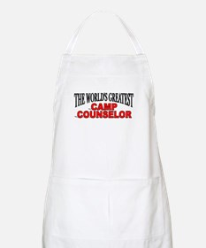 """The World's Greatest Camp Counselor"" BBQ Apron"