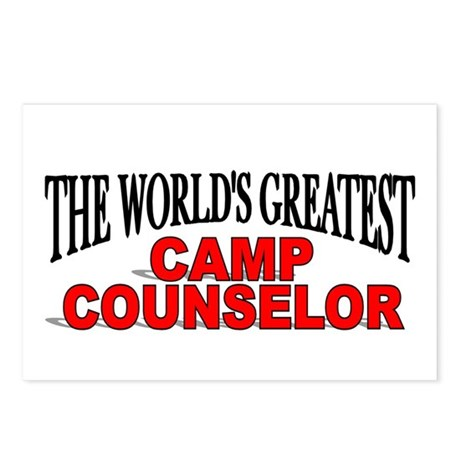 """The World's Greatest Camp Counselor"" Postcards (P"