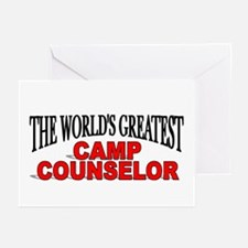 """""""The World's Greatest Camp Counselor"""" Greeting Car"""