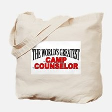 """The World's Greatest Camp Counselor"" Tote Bag"