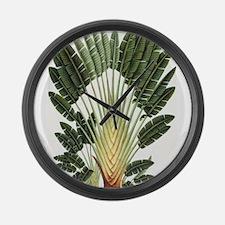 Palm Tree Large Wall Clock