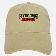 """The World's Greatest Skipper"" Baseball Baseball Cap"