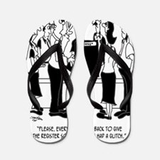 Business Cartoon 8453 Flip Flops