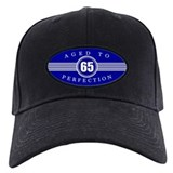 65 birthday Baseball Cap with Patch