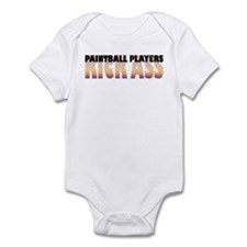 Paintball Players Kick Ass Infant Bodysuit