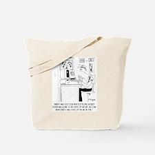 Security Cartoon 8233 Tote Bag