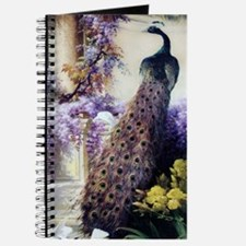 Bidau Peacock, Doves, Wisteria Journal