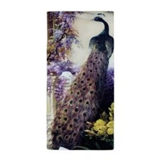 Bidau Peacock, Doves, Wisteria Beach Towel