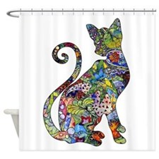 Cute Animal patterned Shower Curtain