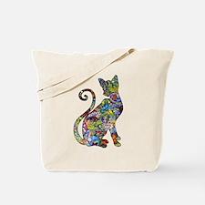 Funny Wild cat Tote Bag