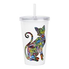 Cute Colors Acrylic Double-wall Tumbler