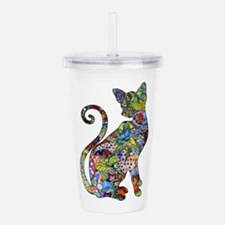 Cute Animal Acrylic Double-wall Tumbler