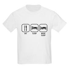 EAT, SLEEP, MORE SLEEP T-Shirt